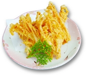 enoki tempura