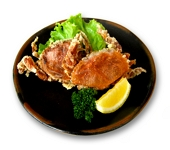 soft shell crab kara-age