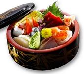 tokusen chirashi sushi don